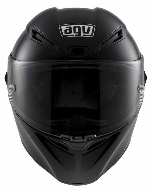 Casco moto Agv GT Veloce Mono nero