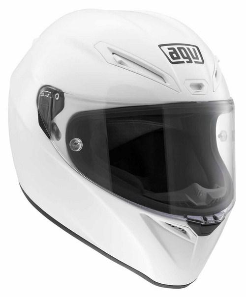 Casco moto Agv GT Veloce Mono bianco