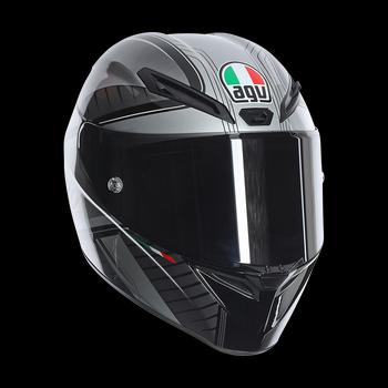 AGV GT Veloce GTX full face helmet Black Gunmetal