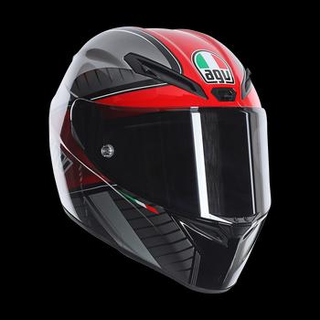 AGV GT Veloce GTX full face helmet Black Grey Red