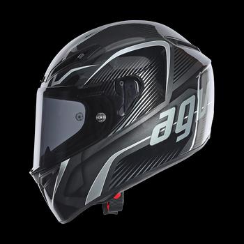 AGV GT Veloce TXT full face helmet Black Gunmetal Silver