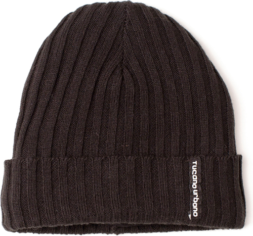 Cappellino termico in maglia Tucano Urbano Mag 624 nero