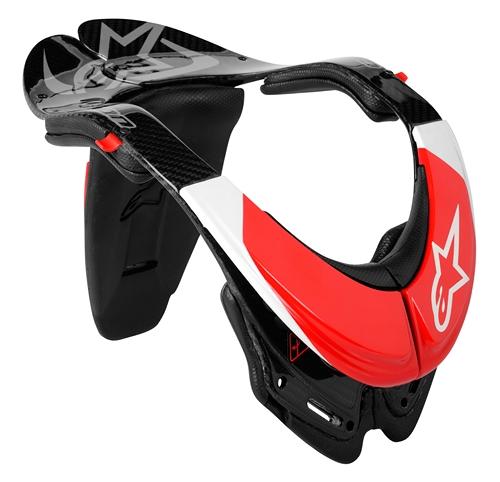 Alpinestars Carbon Bionic necj support (BNS) black.white-red