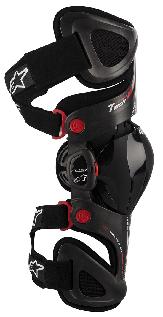 Protection Fluid right knee Alpinestars Tech Carbon Antrac