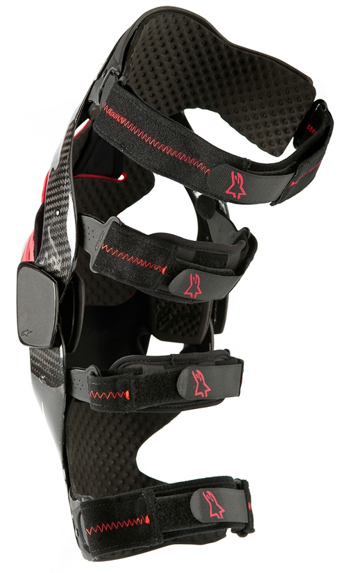 Alpinestars Carbon B2 knee brace black left