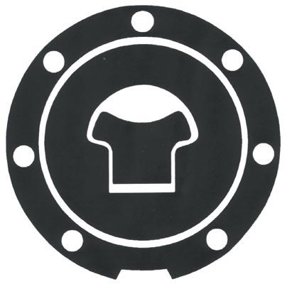 Adesivo resinato proteggi tappo serbatoio Honda Progrip Carbonio