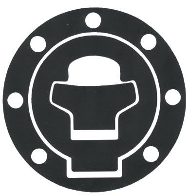 Adesivo resinato proteggi tappo serbatoio Suzuki Progrip Carboni