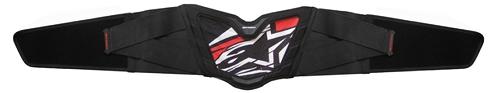 Alpinestars MX Air kidney belt black-red