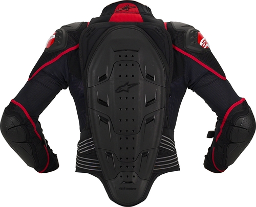 Alpinestars S-MX Bionic 2 protection jacket black.red