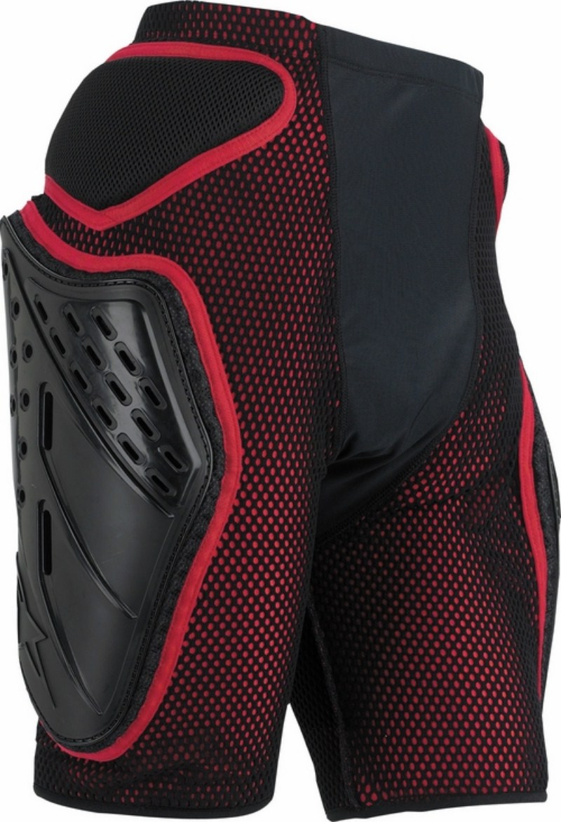 Alpinestars Bionic Freeride protective short black.red