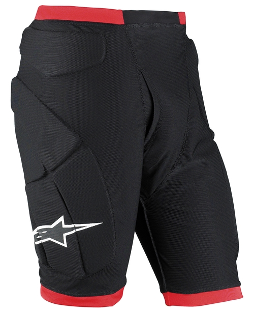 Alpinestars Comp Pro protective short black-red