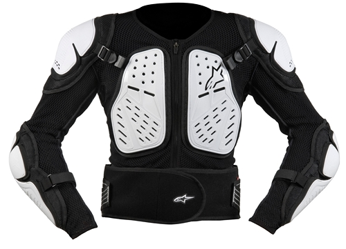 Alpinestars Youth Bionic 2 protection jacket black-white