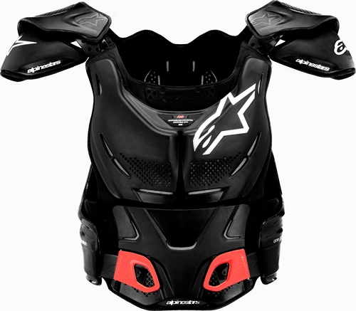 Alpinestars A-8 protection vest for BNS black-silver