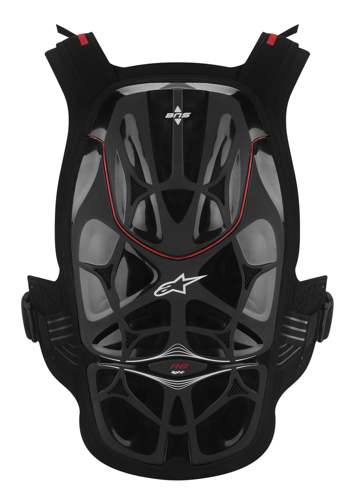 Harness complete Alpinestars A8 Light Black Red
