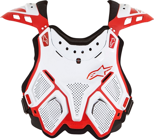 Alpinestars A-10 for BNS chest protector white-red