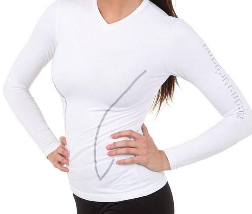 TUCANO URBANO Polo Nord Lady 672 Long Sleeves Shirt white