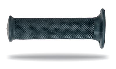 Perforated rubber grips Progrip Road in Black