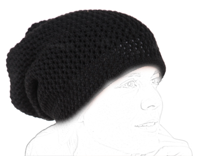 Tucano Urbano hat-neckwarmer Sharpei 695 black