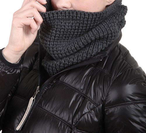 Tucano Urbano hat-neckwarmer Sharpei 695 dark grey