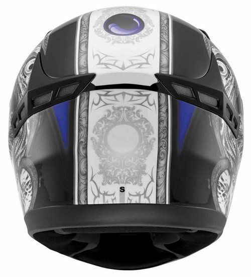 MDS by Agv New Sprinter Multi Creature full-face helmet blue