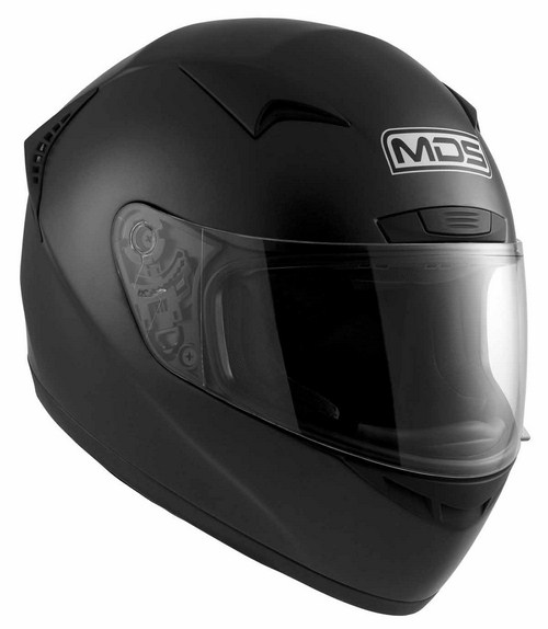 MDS by Agv New Sprinter Mono full-face helmet black matt