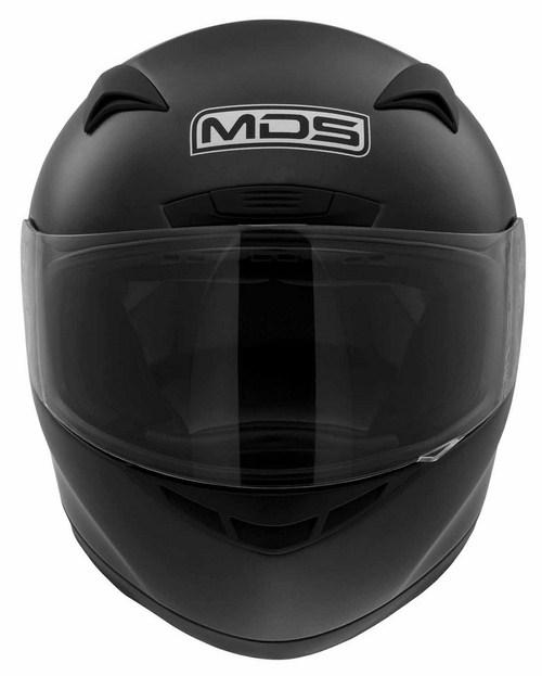 Casco moto MDS by Agv New Sprinter Mono nero opaco