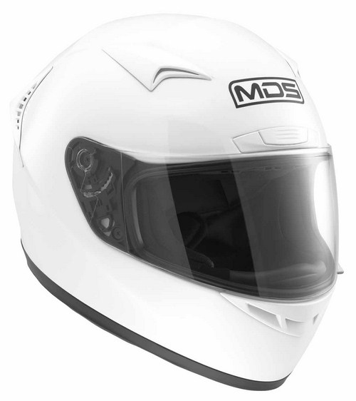 Casco moto MDS by Agv New Sprinter Mono bianco