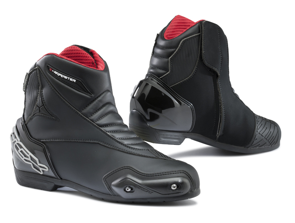 Scarpe moto TCX X-Roadster Waterproof Nero