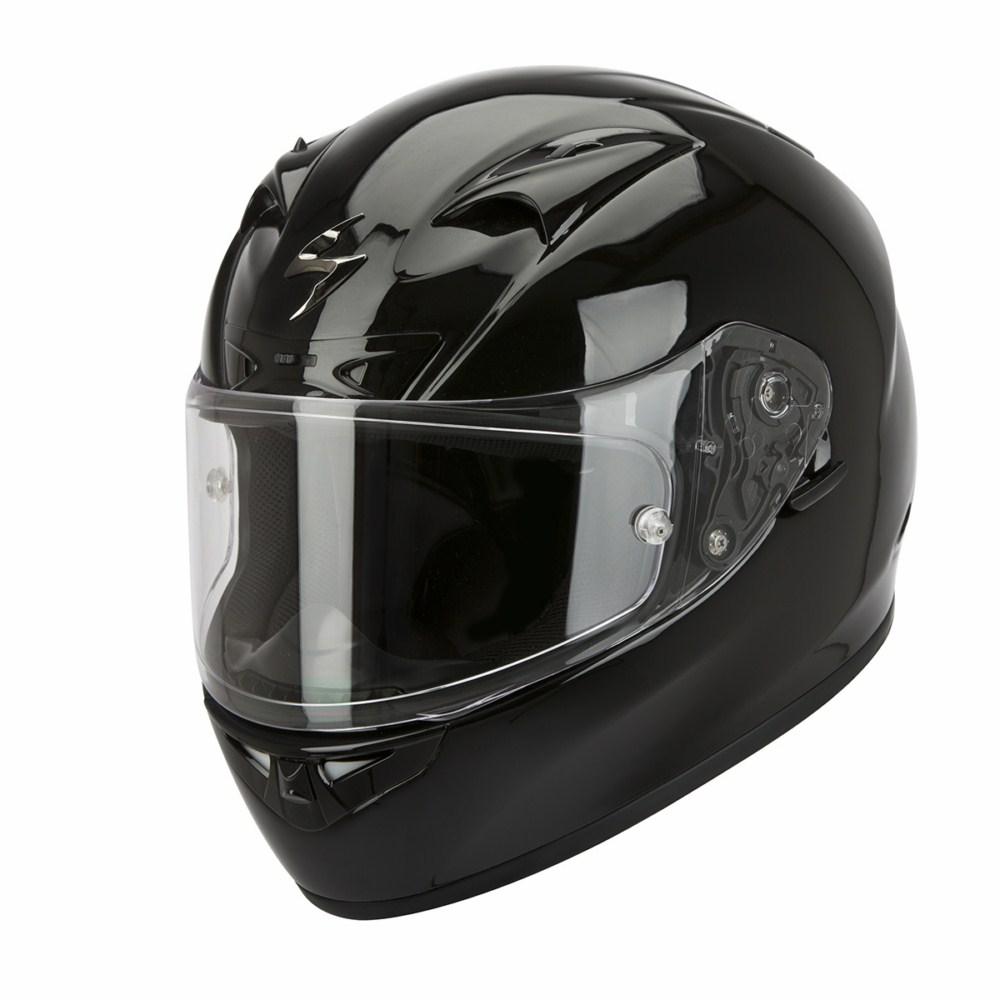 Scorpion Exo 710 Air Solid full face helmet black