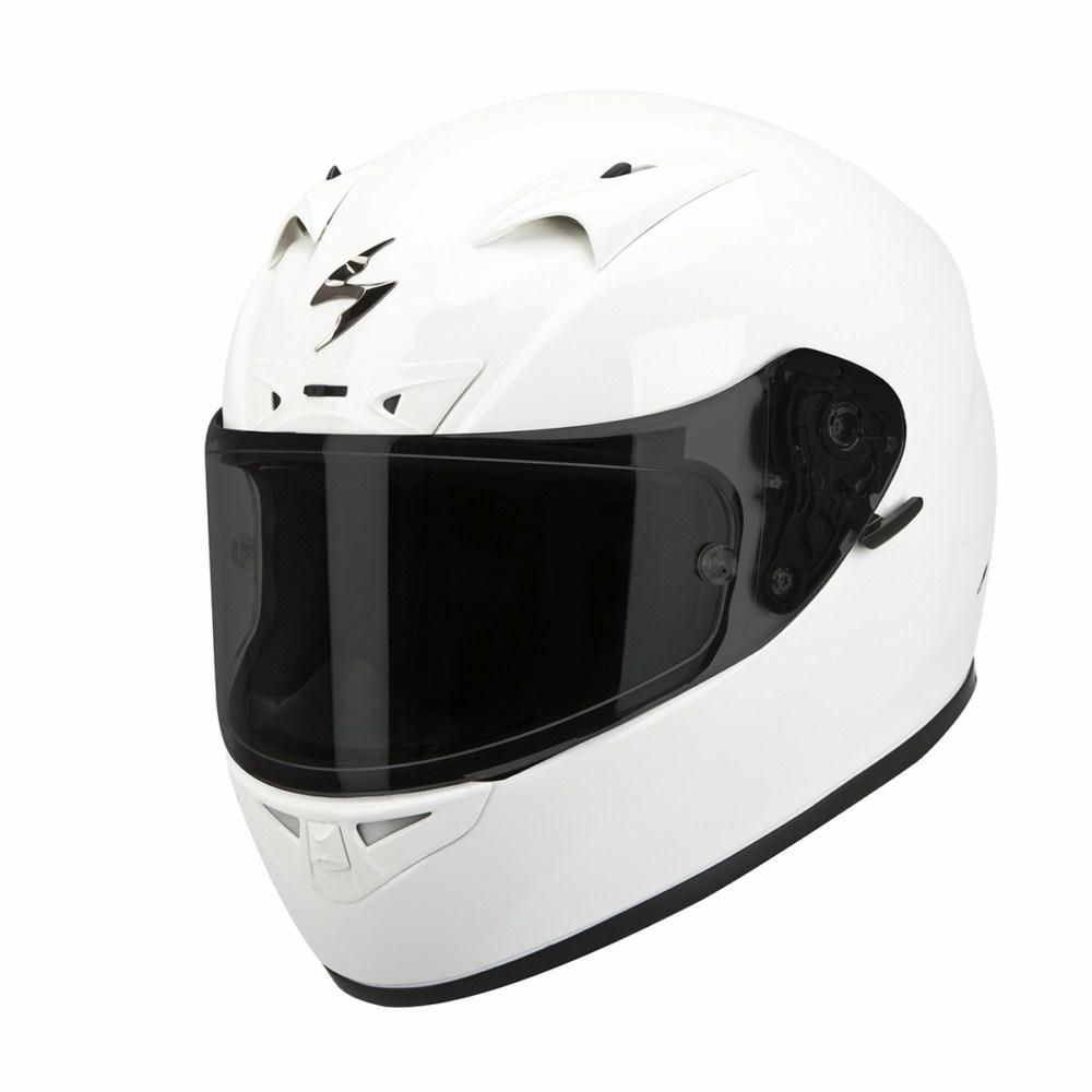 Scorpion Exo 710 Air Solid full face helmet white