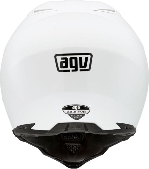 Casco moto Agv AX-8 Evo Mono bianco