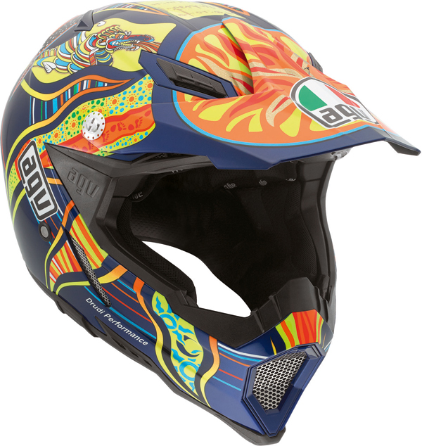 Casco moto Agv AX-8 Evo Top Five Continents