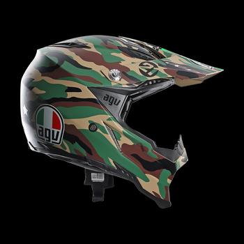 Agv AX-8 Evo Paulin cross helmet Camouflage