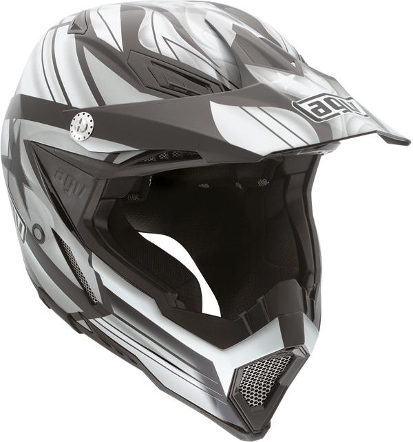 Agv AX-8 Evo Multi Flagstar off-road helmet black-gunmetal