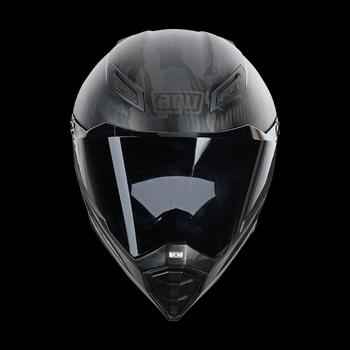 Agv AX-8 evo naked carbon full face helmet