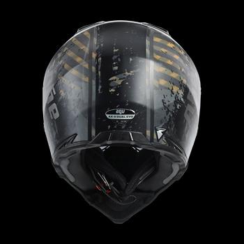 AGV AX-8 Dual Evo cross helmet Grunge opaque