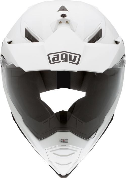 Agv AX-8 Dual Evo Mono off-road helmet white