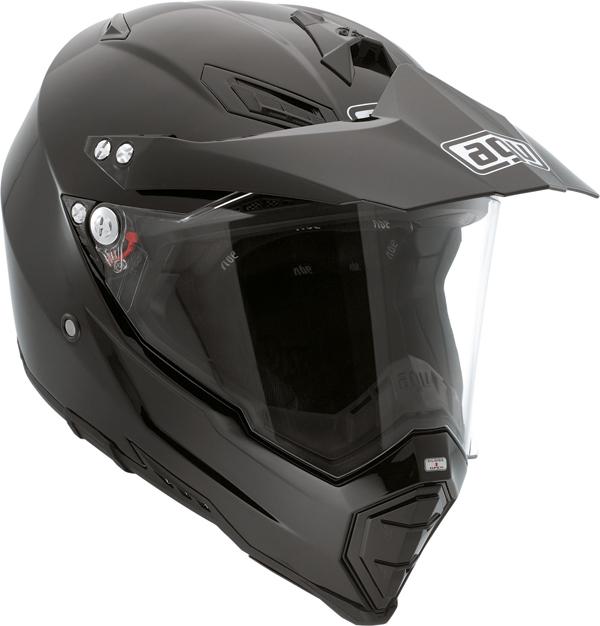 Agv AX-8 Dual Evo Mono off-road helmet black