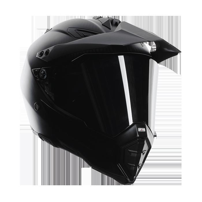 Agv AX-8 dual evo carbon full face helmet matte
