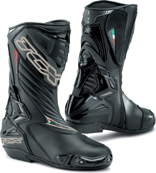 Tcx S-R1 Gore-Tex racing boots black