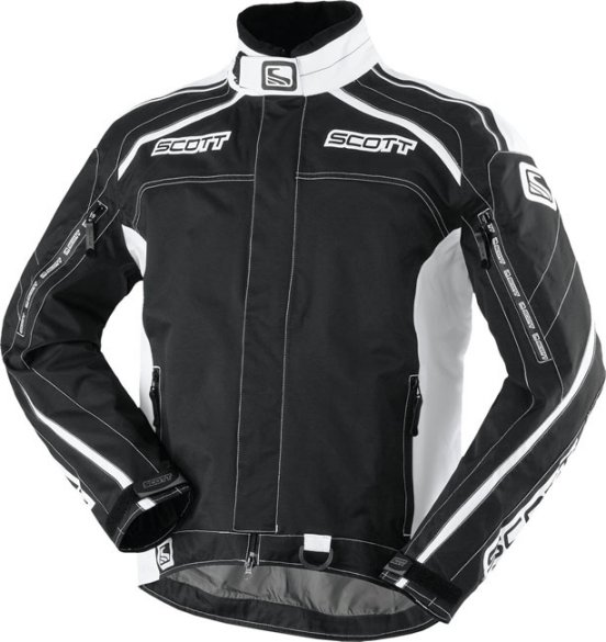 Motorcycle Jacket Scott Xone TP Black