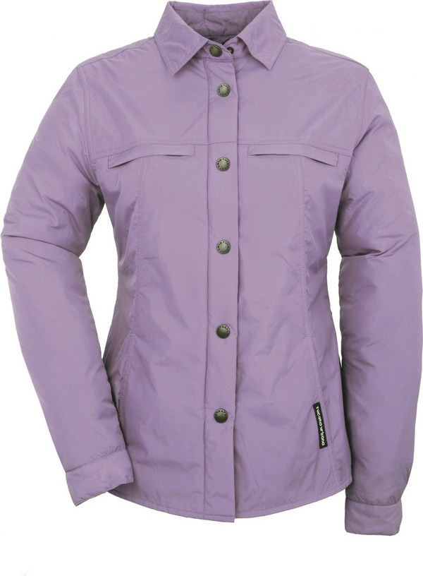 Tucano Urbano women padded shirt Lori pervinca