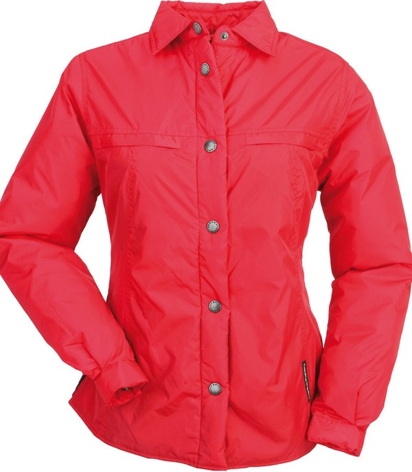 Tucano Urbano women padded shirt Lori red