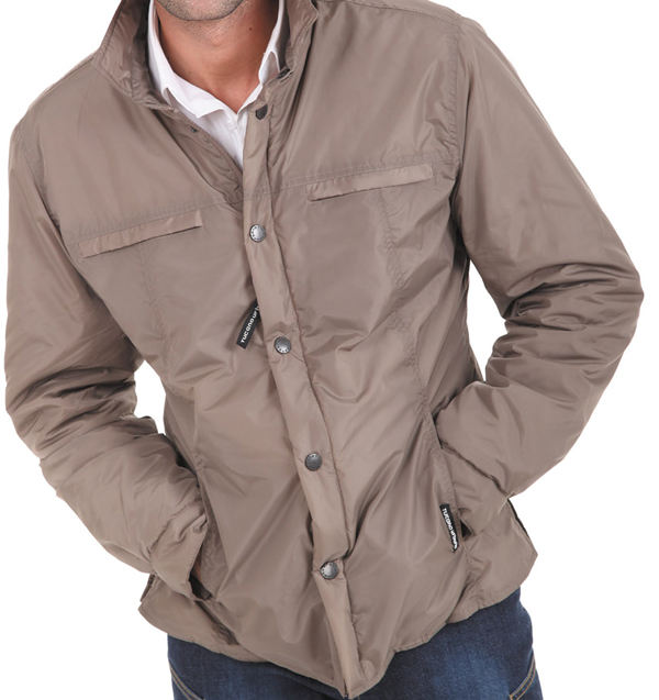 Tucano Urbano Fester 881 padded shirt beige