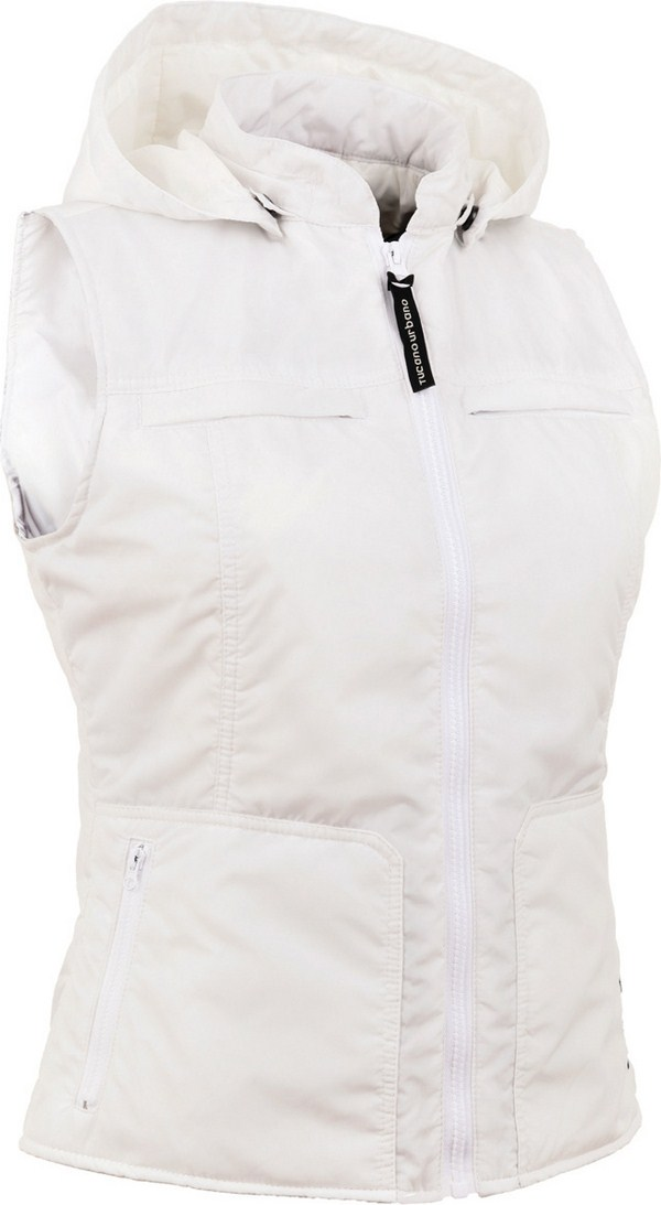 Tucano Urbano women padded gilet Lady Cap 8852 white