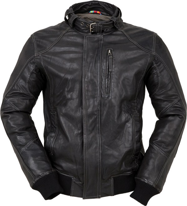 Tucano Urbano Toba 8859 leather jacket black