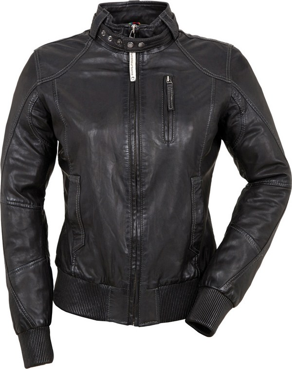 Tucano Urbano women leather jacket Toba Lady 8860 black