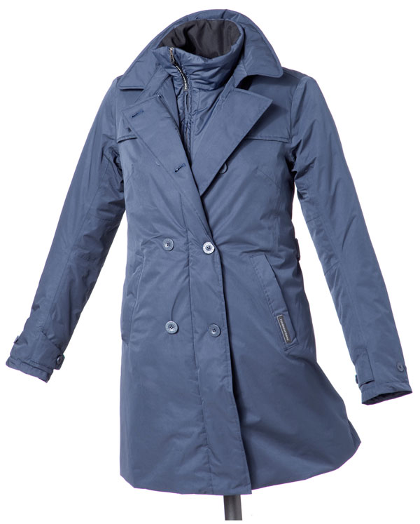 Trench woman Tucano Urbano Serissa Blue