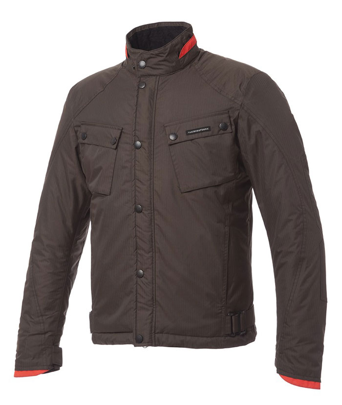 Tucano Urbano 2Cilindri jacket Brown mud