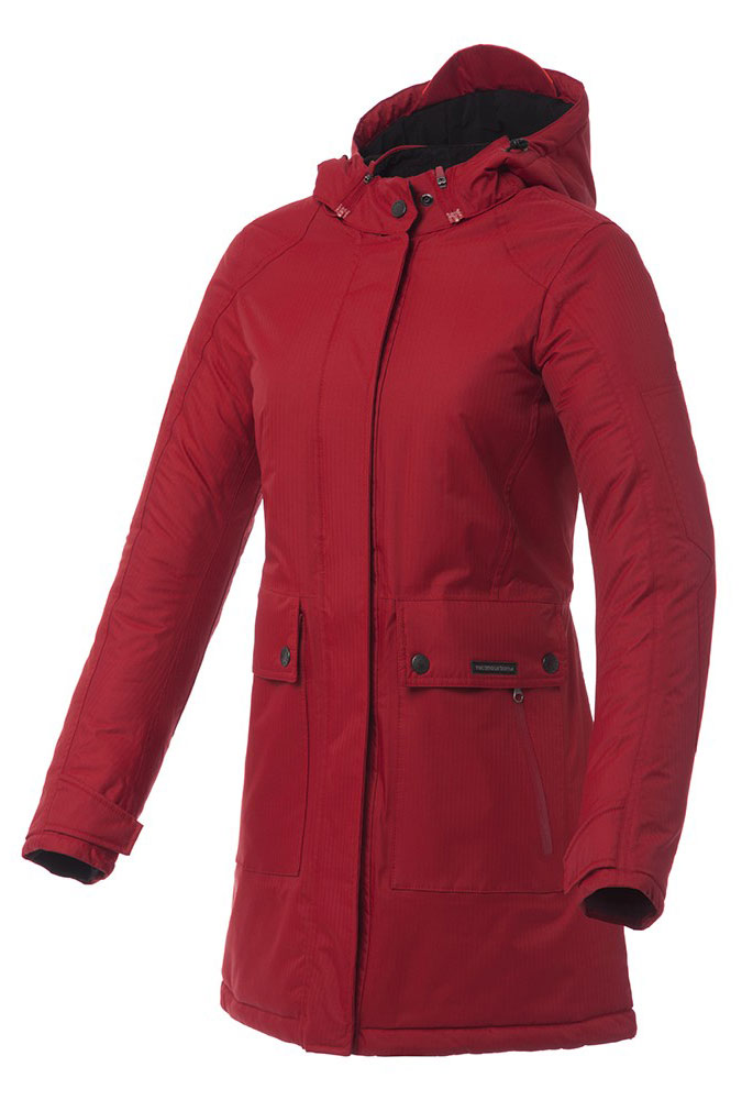 Tucano Urbano Candela woman jacket Dark red